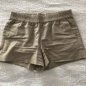 JCrew Stretch Waist Shorts